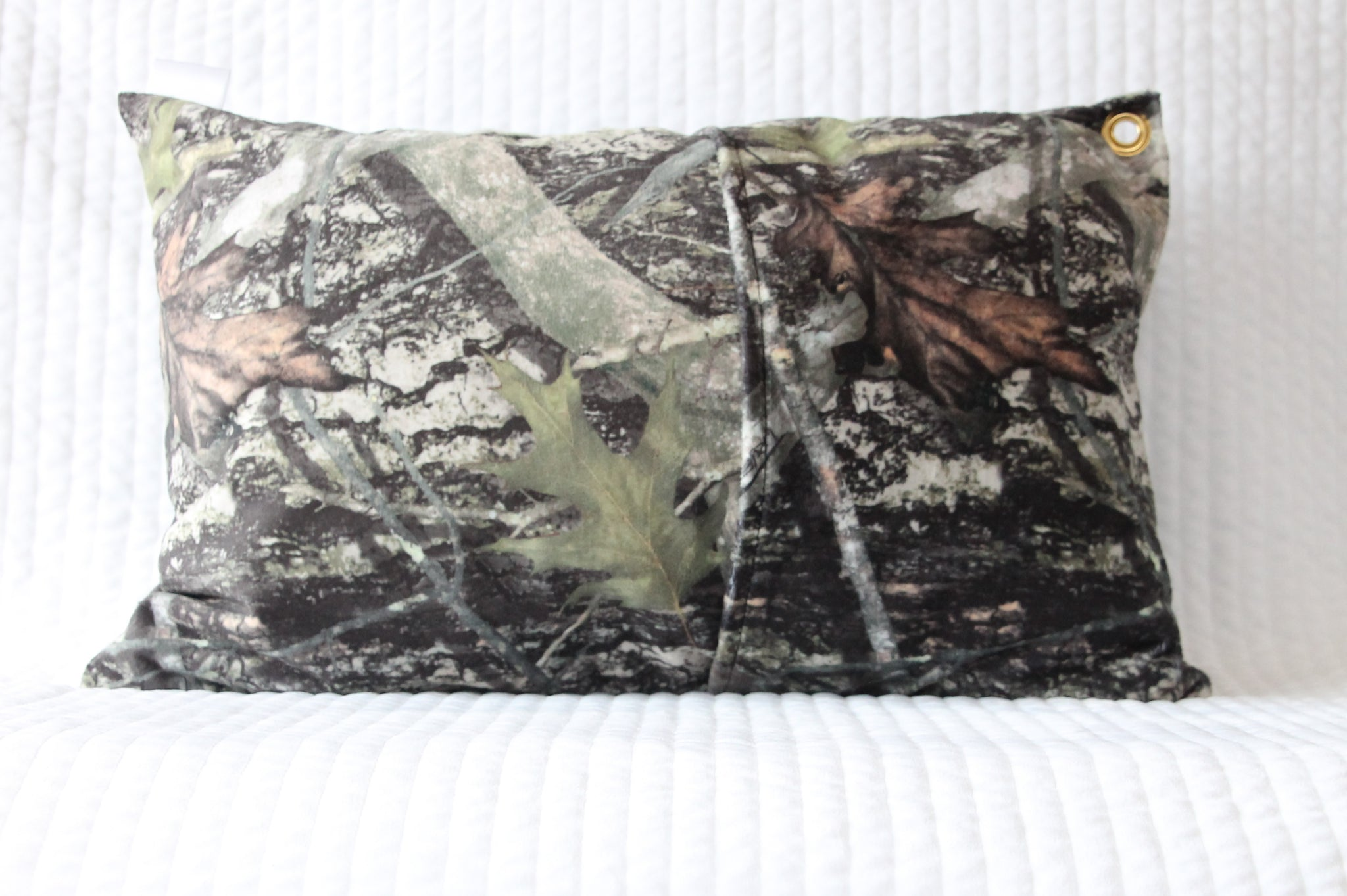 Forest Camouflage Travel Pillowcase