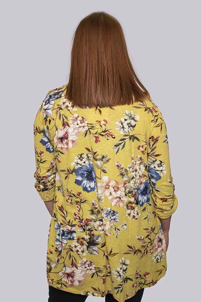 Calista 2 Piece Floral Cotton Top - Love My Fashions - Womens Fashions UK