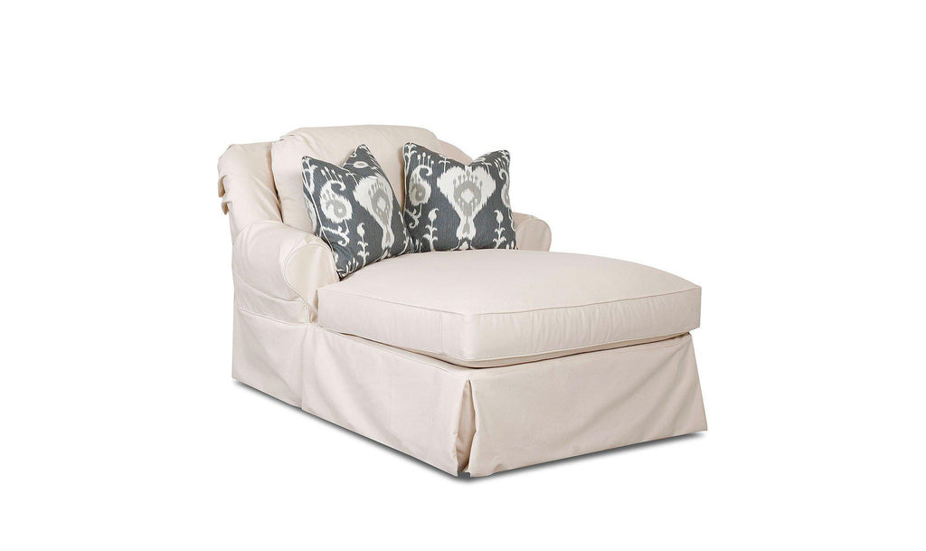 Linda Slipcover Chaise-Jennifer Furniture