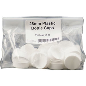 Cowboy Craft LLC Screw Cap - Plastic - 28 mm - Pack of 25 | クラフトビール直送のCowboy Craft