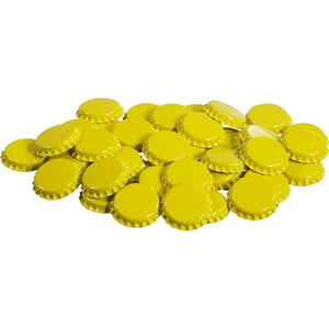 Cowboy Craft LLC Bottle Caps - Yellow - Oxygen absorbing - Case of 10,000 キャップ・王冠  | クラフトビール直送のCowboy Craft