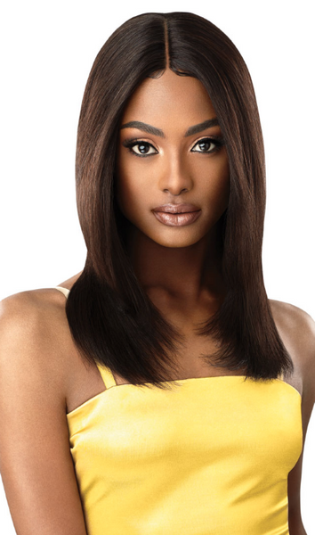 Outre Unprocessed Mytresses Gold Label Lace Front Wig NATURAL STRAIGHT 20-22""