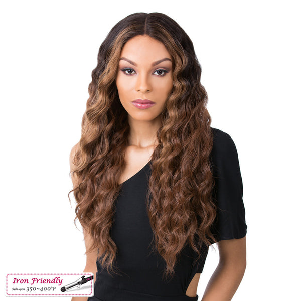 Its a Wig Synthetic Iron Friendly Wig EDGAR