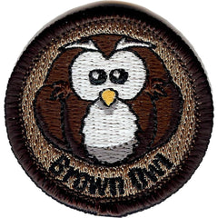 Embroidered - Brown Owl