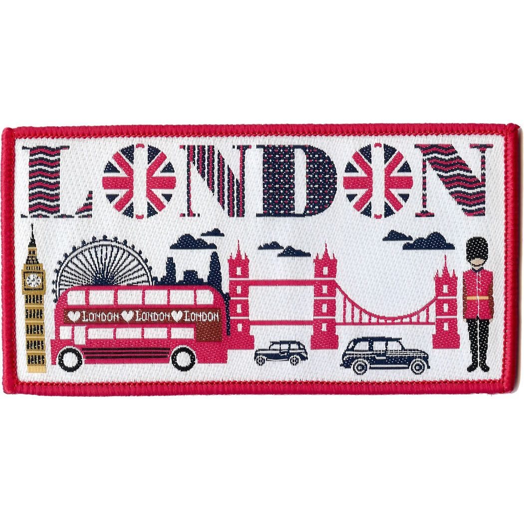 Embroidered - London
