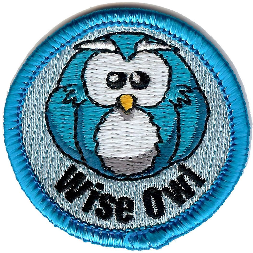Embroidered - Wise Owl
