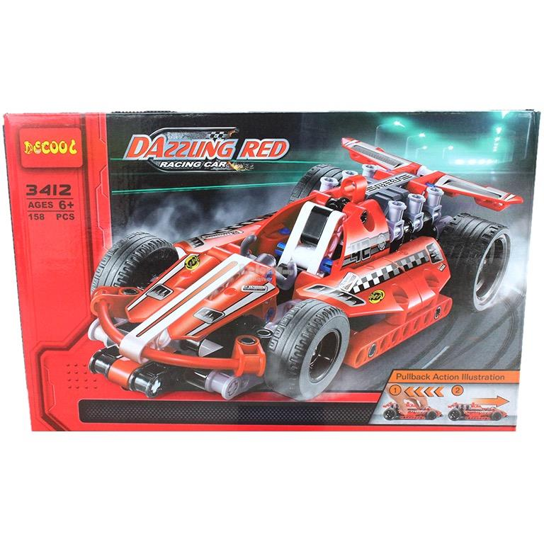 X - DeCool - Dazzling Red Racer - 3412