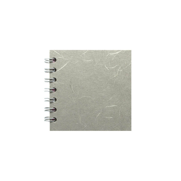 4x4 Square, Pale Grey Sketchbook by Pink Pig International