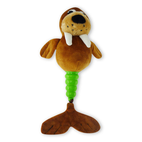Hush Plush Walrus Large Plush On/Off Squeaker Dog Toy