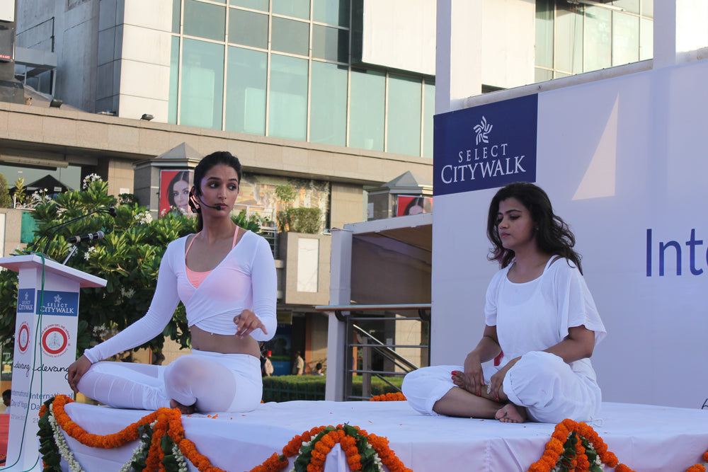 Yoga Day at Select CITYWALK with Ira Trivedi