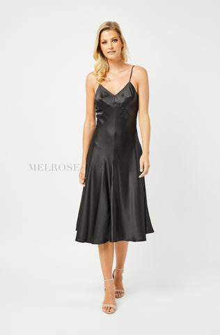 Alessandra Slip Dress | Wine