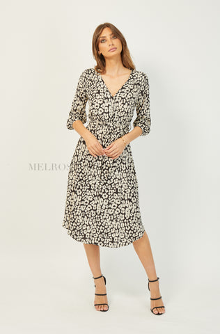 Regina Mini Dress | Leopard