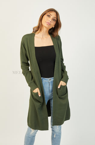 Up All Night Hooded Cardi