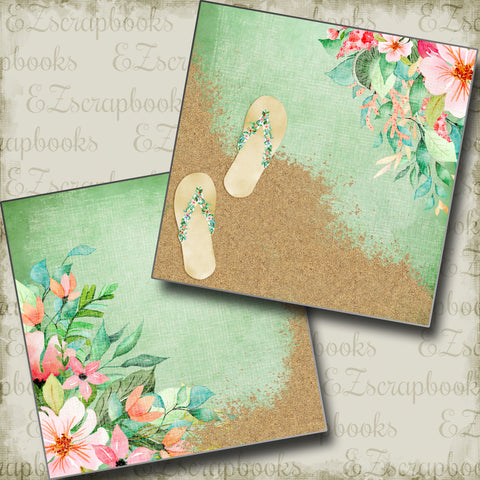 Beachy Flowers NPM - 3835