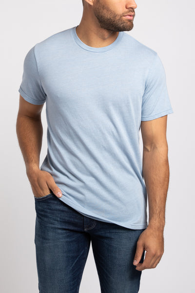 Georgetown Crew Neck - Light Blue