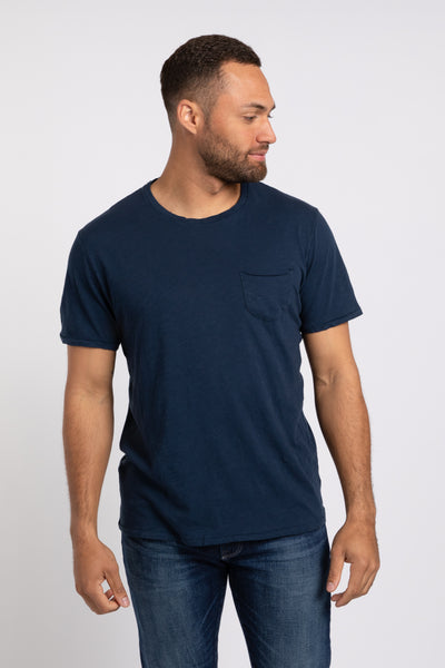 Elliott Pocket Tee - Navy