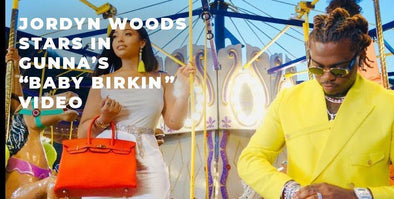 "Gunna And Jordyn Woods Co-Star in ""Baby Birkin"" Video"
