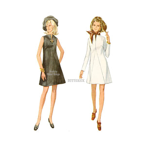 Butterick 5506 A Line Dress Pattern