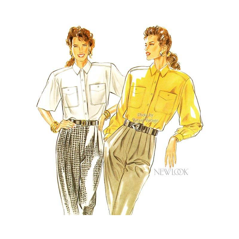 Womens Blouse Pattern New Look 6448