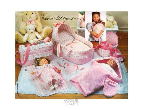 Vogue 8710 baby doll pattern