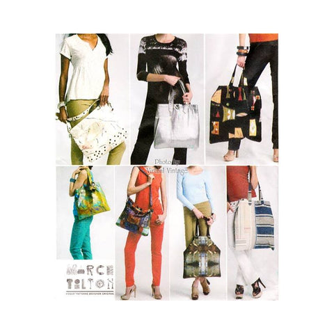 Vogue V8823 tote bag pattern