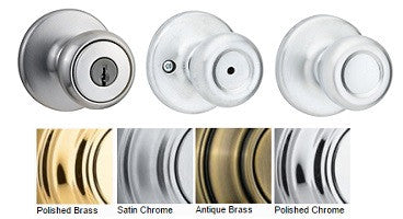 Kwikset Tylo Passage, Privacy, Dummy & Entrance Door Knobs