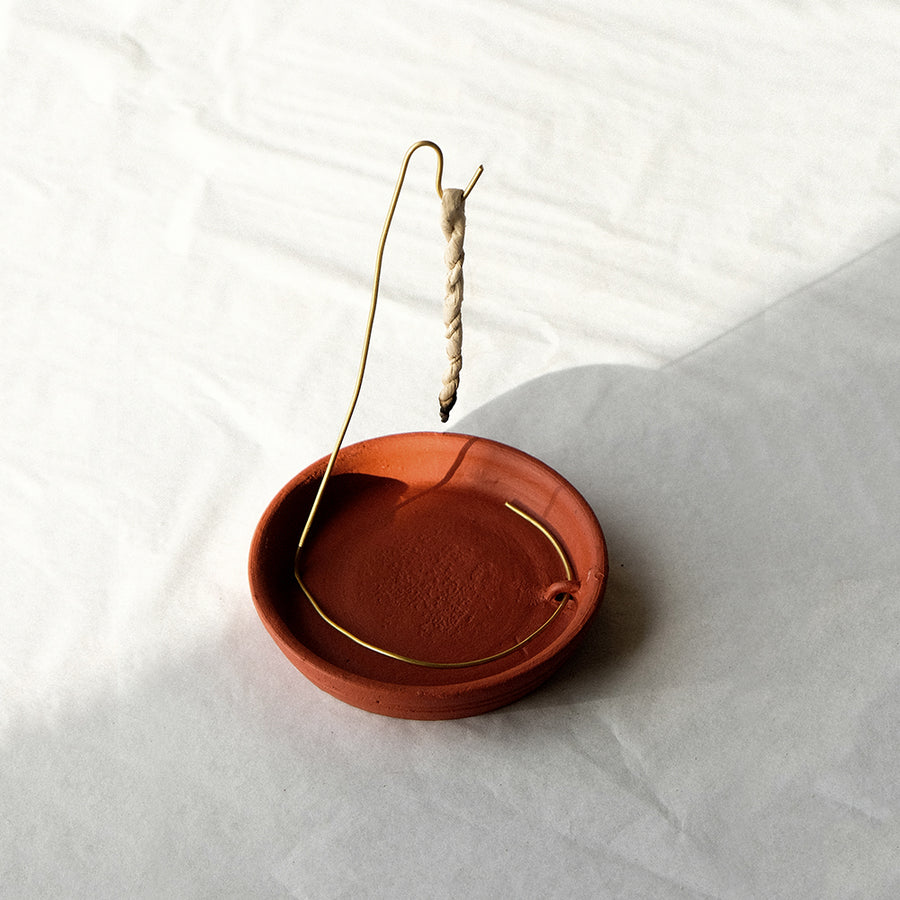Rope Incense Burner