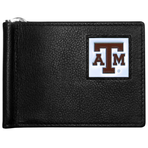 Texas A & M Aggies Leather Bill Clip Wallet