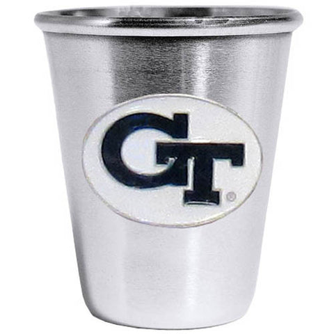 Georgia Tech Yellow Jackets Steel Shot Glass