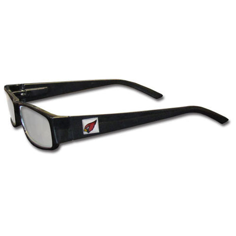 Arizona Cardinals Black Reading Glasses +1.75