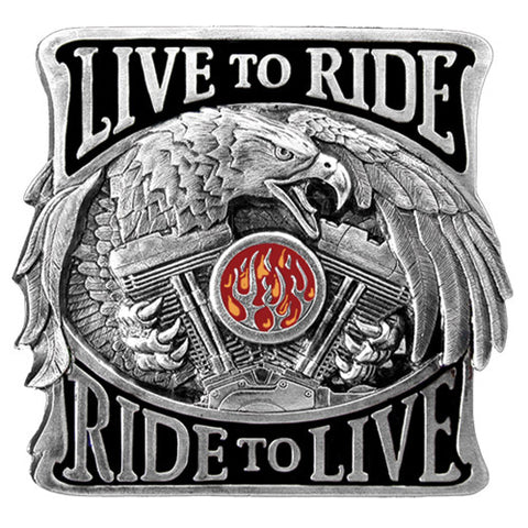 Live To Ride Hitch Cover