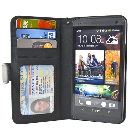 HTC One Wallet Case - Navor