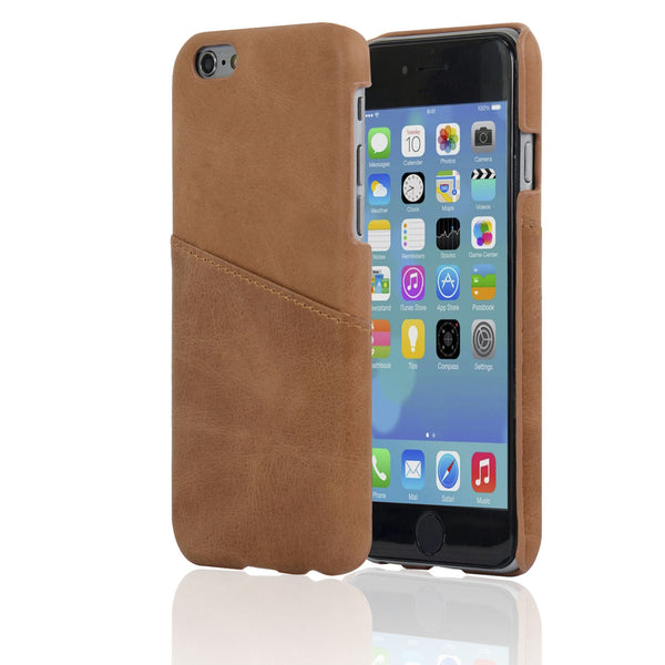 4.7-inch iPhone 6/6S Genuine Leather Cards Pocket Case - Navor