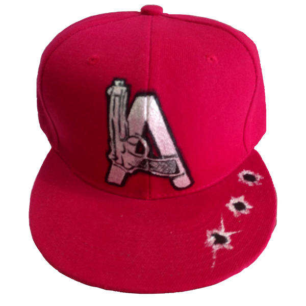 LA Gun SnapBack Hat - BYN Customs