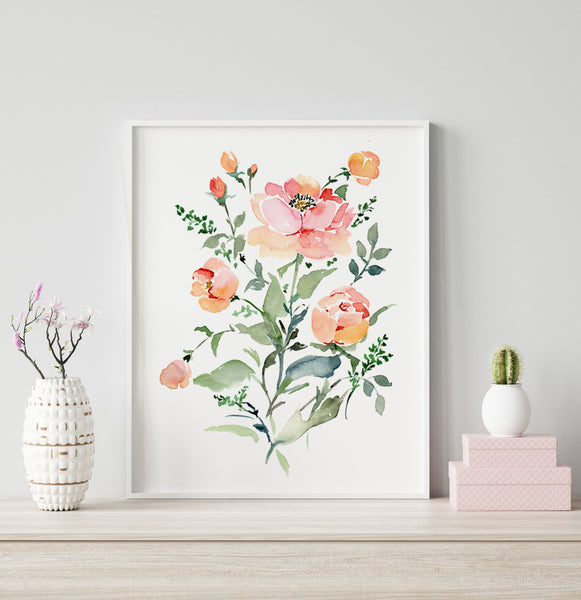 Roseanne giclée watercolour paper
