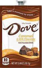 Flavia Dove Caramel Milk Hot Chocolate