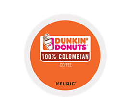 Dunkin Donuts 100% Colombian K-CUP Pods