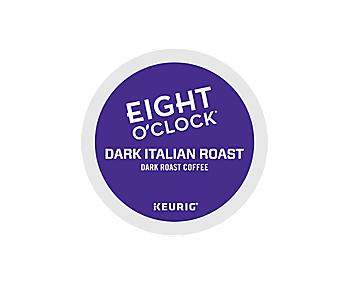 K-Cups - Eight O'Clock Dark Italian Roast K-Cups