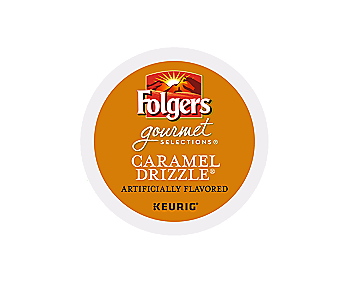 K-Cups - Folgers Gourmet 24ct Caramel Drizzle K-Cups