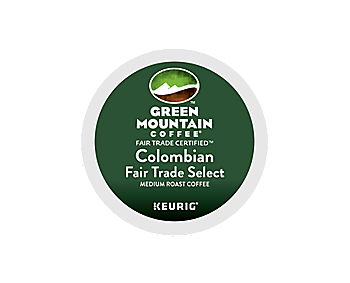 K-Cups - Green Mountain Colombian Fair Trade Select K-Cups
