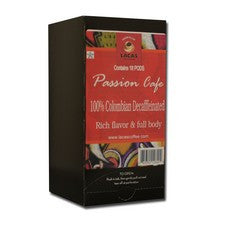 Pods - Lacas Passion Cafe Decaf Colombian Supremo Coffee Pods