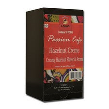 Pods - Lacas Passion Cafe Hazelnut Creme Coffee Pods