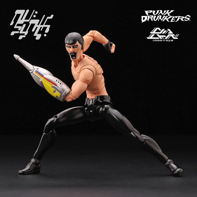 Nu:Synth Punk Drunkers AITSU 1:12-scale action figure by 1000toys