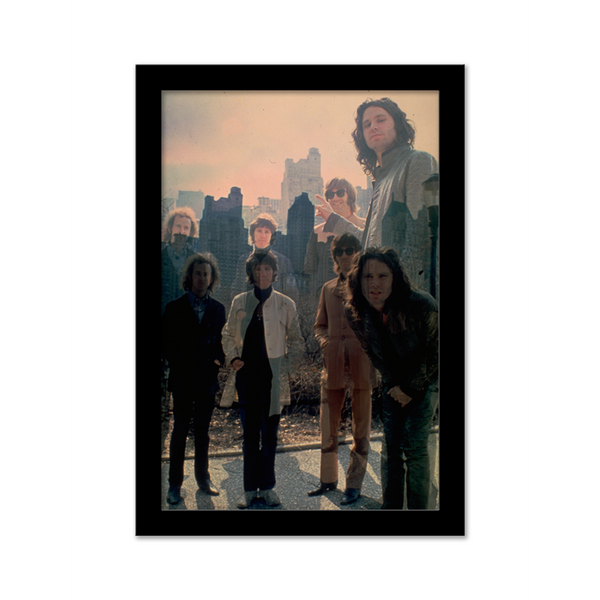 The Doors of Perception Gallery Print poster black frame