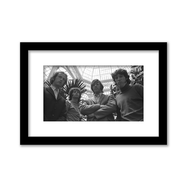 The Doors Atrium Gallery Print framed