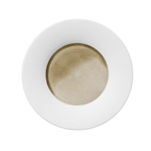 "Silent Brass Bread and Butter Plate, 7.1"" by Hering Berlin"