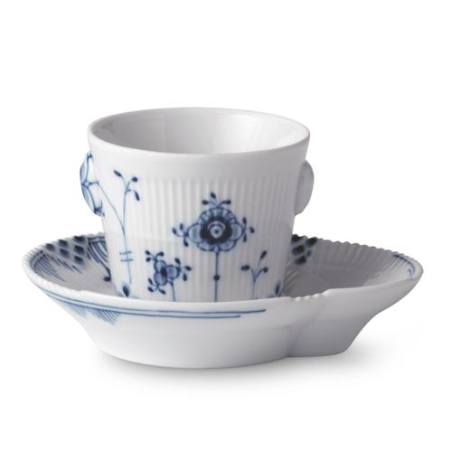 Blue Elements Espresso Cup & Saucer by Royal Copenhagen