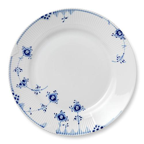 Blue Elements Dinner Plate by Royal Copenhagen