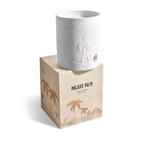 Haas Mojave Candle, White by L'Objet