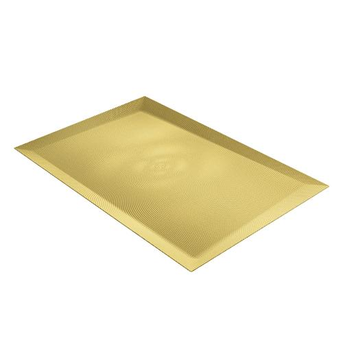 Alice Tray, Brass by Odile Decq for Alessi